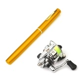 1M / 1.4M Pocket Collapsible Fishing Rod Reel Combo