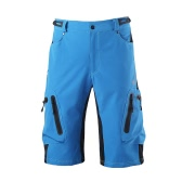 Lixada Baggy Shorts Cycling Bicycle Bike MTB Pants Shorts Breathable Loose Fit Casual Outdoor Cycling Running Clothes Polyamide with Zippered Pockets