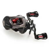 Lixada 12+1 Ball Bearings Baitcasting Reel Fishing Fly High Speed Fishing Reel with Magnetic Brake System