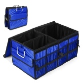 Heavy Duty Picnic Food Carrier Foldable Trunk Organizer Carrier Collapsible Cargo Storage Bin Container