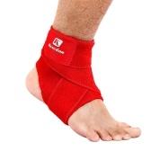 Suporte Tornozelo esporte Elastic Alta Proteger Segurança Equipamentos Esportivos Correndo Ankle Brace Basketball Suporte Preto & S