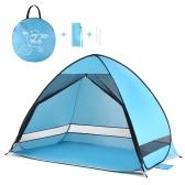 Открытый автоматическая всплывающая пляжная палатка