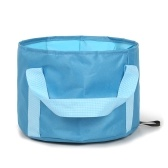 Складное ведро для кемпинга 16 л Портативный дорожный складной контейнер для воды