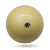 1個ホワイトキューボール57.2MMビリヤードボール