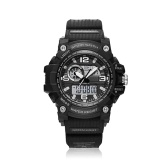 Men Large Face Dual Dial Analog Digital Quartz Outdoor Sport Watch X