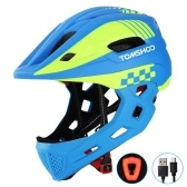 TOMSHOOH Kid Bike Full Face Helmet