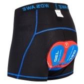 Мужские велосипедные шорты для нижнего белья Легкие дышащие гелевые шорты для езды на велосипеде MTB