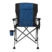 折りたたみ式折りたたみ椅子 ポケット付き キャリング収納バッグ カップホルダー 収納可能 ポータブル キャンプ 釣り 屋外 屋内使用