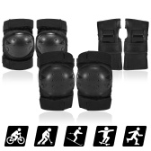 Protective Gear Set 6 in 1 Knee Elbow Pads