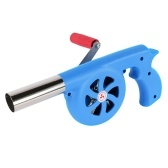 BBQ Fan Air Blower Hand Crank Barbecue Fire Bellow