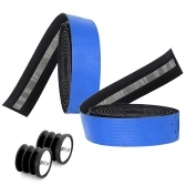 1 pair of Bicycle Handlebar Tapes Road Bike Handlebar Band Breathable Non-Slip Cycling Handlebar Belt Wrap Bicycle Horns Belt Bike Anti-Slip Shockproof Riding Equipment
