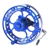Fly Fishing Reel 3BB Ball Bearings Full Metal Fishing Wheel Right Handed Aluminum Alloy Smooth Fly Reels Ultra Light Front Fishing Reel Fishing Accessories