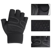Weightlifting Gloves Workout Gloves with Wrist Wraps