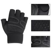 Перчатки для тяжелой атлетики Перчатки для тренировок с запястьями