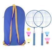 Badminton Racket for Children 1 Pair, Nylon Alloy Pracitical Professional Racquet Set for Children Indoor/Outdoor Sport Game