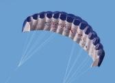 Спорт на открытом воздухе двойной линии трюк клапанный кайт 1,4 м мощность мягкой кайт с ручкой 30m линия
