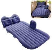 Портативный автомобильный матрас, складная подушка, надувная кровать, надувной матрас, автомобильная кровать с воздушным насосом, походный дорожный матрас