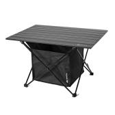 Tavolo da picnic pieghevole da esterno con tasca per sedile Scrivania da campeggio con stoviglie impermeabili Borsa portaoggetti da campeggio Uso in cortile