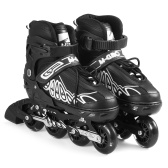 Adjustable Inline Skates with Illuminating Wheels Skates Outdoor Skates For Kids Boys Girls Ladies