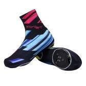 Sapatos de ciclismo capa para ciclismo à prova de poeira e calçados de bicicleta com zíper para homens e mulheres botas de mountain bike de estrada