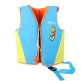 Colete salva-vidas infantil colete salva-vidas infantil para meninos Grils Colete de natação com zíper para esportes aquáticos, surf e natação