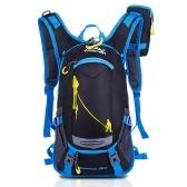 Велосипедный рюкзак с дождевиком Водостойкий гидратационный рюкзак с сеткой для шлема для бега Велоспорт Туризм Велосипед Кемпинг