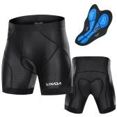 Lixada Мужские велосипедные шорты с противоскользящими накладками для ног Велоспорт 3D мягкое нижнее белье Велосипедные шорты для верховой езды Нижнее белье для велосипедистов Шорты