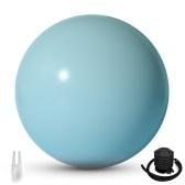Bola de ioga espessa e anti-estouro Bola de ginástica Bola de exercício Bola de estabilidade para exercício de equilíbrio Treino de treino de núcleo Bomba rápida incluída Bola de equilíbrio Cadeira de mesa Cadeira de ginástica Escritório interno