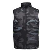 Lüfterausgestattete Kleidung UV-beständige Kühljacke Sommerklimaweste mit Lüfter Elektrische Lüfterkühlweste Outdoor-Angelkleidung für Arbeiten beim Laufen Radfahren