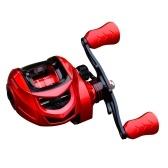 9 + 1 BB Rolamento Carretel de isca de pesca em alta velocidade 7.2: 1 Carretel de pesca Fundição de isca 10 kg Arrasto máximo Acessório de pesca para a mão esquerda / direita