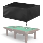 7ft Waterproof Billiard Table Cover Folding Pool Table Cover Dustproof Cover Moisture Resistant Durable Oxford Furniture Protection Case for Indoor Outdoor