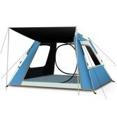 Wasserdichtes automatisches Pop-up-Campingzelt Tragbarer Sonnenschutz-Aufbau Sofortiges Zelt für Outdoor-Camping Wandern Strandpark