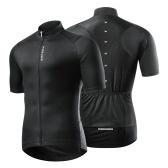 Camisa masculina de manga curta ciclismo MTB bicicleta bicicleta de secagem rápida respirável camisa esportiva de verão
