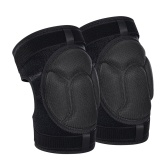 Adjustable Protective Knee Pads Thicken Sponge Cushion Protection Anti-slip Knee Guard Safety Protective Equipment