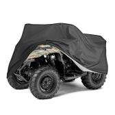 Cubierta impermeable para vehículos de playa Cubierta plegable para ATV Cubierta para vehículos todoterreno a prueba de polvo Resistente a la humedad Funda protectora para ATV Oxford duradera
