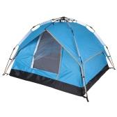 Docooler automatiche tenda impermeabile due-strato doppio porta tenda 3 persona tempo libero tenda 200 * 200 * 140 cm