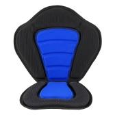Asiento acolchado Deluxe para kayak / barco Asiento acolchado suave y antideslizante Respaldo alto Cojín ajustable para kayak con respaldo