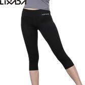 Lixada 女性タイトなヨガ ヨガ実行するためソフト速乾カプリパンツ スポーツ レギンスをパンツします。