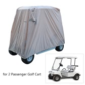 TOMSHOO 2/4 de pasajeros del carro de golf cubierta de la carcasa Golf azotea del coche
