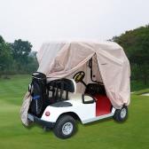 TOMSHOO 2/4 Passagier Golf Cart Abdeckung Golf-Auto-Dach-Gehäuse
