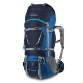 TOMSHOO 70 + 5L Outdoor Sport Wasserabweisender Rucksack