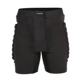 TOMSHOO di protezione imbottiti Shorts Hip Butt Pad Resistenza agli urti traspirante sportivo per Sci Snowboard pattinaggio