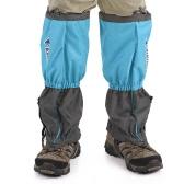 1ペアスノーレッグガイターズスノーレッグブーツカバーストラップアウトハイゲイター登山スキーハイキングハンティング用