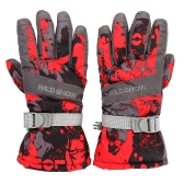 Outdoor Winter Warm Ski Gloves Windproof Thermal Warm Gloves Cycling Snowboard Luvas de neve para homens Mulheres