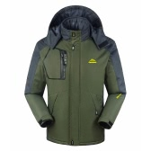FH-1688 Мужская ветрозащитная флисовая зимняя спортивная куртка