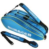 Bolso de la estafa de la mochila del bolso de la raqueta de tenis de la bolsa de la estafa de 6 raquetas