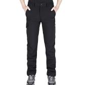 Мужские наружные спортивные ветрозащитные брюки Флисовые выстланные зимние теплые штаны для быстрой сушки брюки кемпинг походы альпинизм рыбалка горные брюки