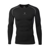 T-shirt manica lunga Fitness top a maniche lunghe T-shirt traspirante e traspirante