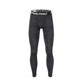Pantalones de Fitness de secado rápido para hombres Pantalones de entrenamiento de baloncesto para hombre sin esfuerzo Pantalones de entrenamiento de compresión elástica transpirable Leggings deportivos de compresión elástica