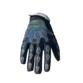 230006 Noches reflectantes con dedos llenos, guantes transpirables para montar